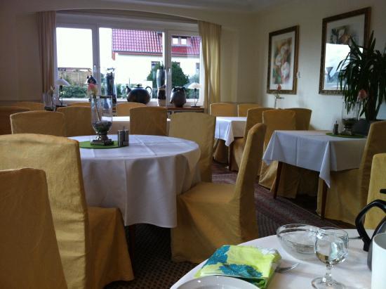 Hotel Lingemann: Calm, quiet breakfast room