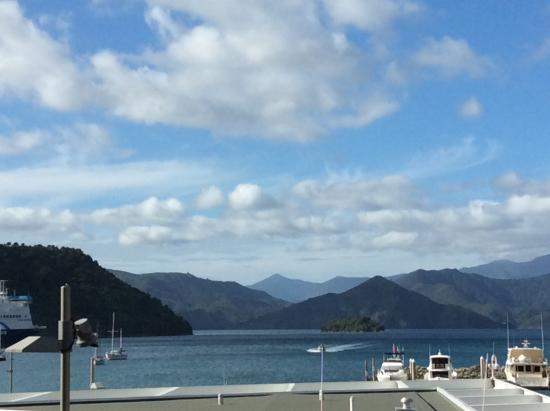 view from our balcony picture of harbour view motel picton picton rh tripadvisor com sg