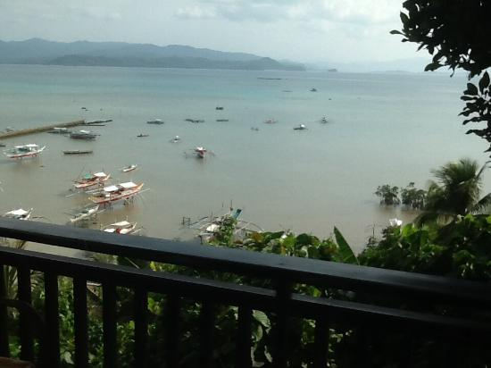 Peace and Love Resort: Vue depuis la chambre n2