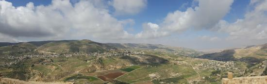 View from Karak Castle