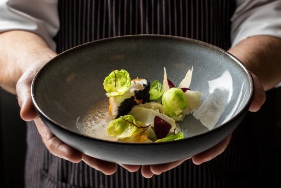 Bosch en Duin, Países Bajos: Fine dining dish de Hoefslag