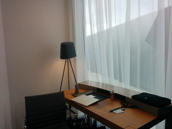 desk office area in suite picture of the marker hotel dublin rh tripadvisor com au