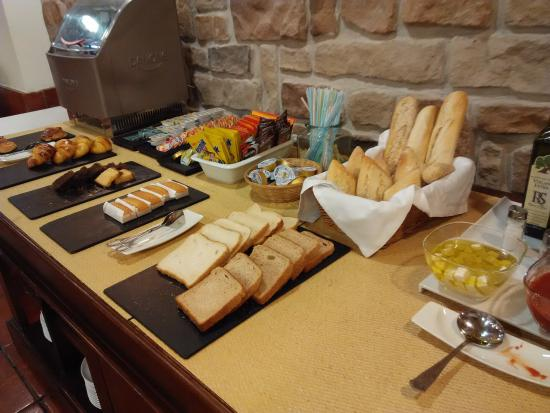 Berrioplano, Hiszpania: El desayuno.