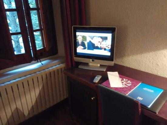 Berrioplano, Hiszpania: La TV