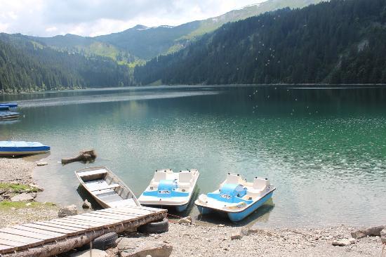 Feutersoey, Schweiz: Bootssteg