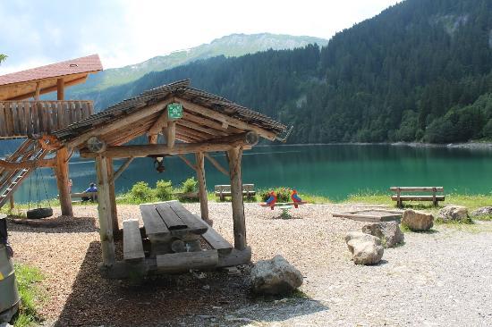 Feutersoey, Schweiz: Spielplatz