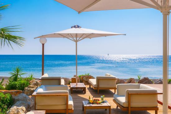 almyra beach bar picture of elysium resort spa kallithea rh tripadvisor co za