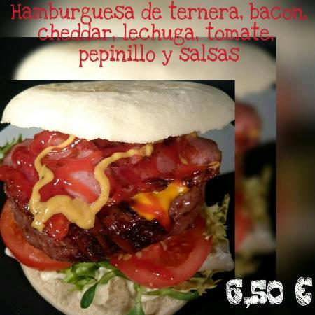 Picassent, Spania: Burguer bacon