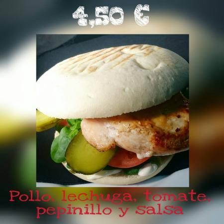 Picassent, Spania: Boina pollo