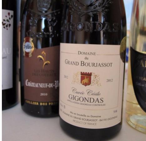 Provenza, Francia: 購入した赤ワイン