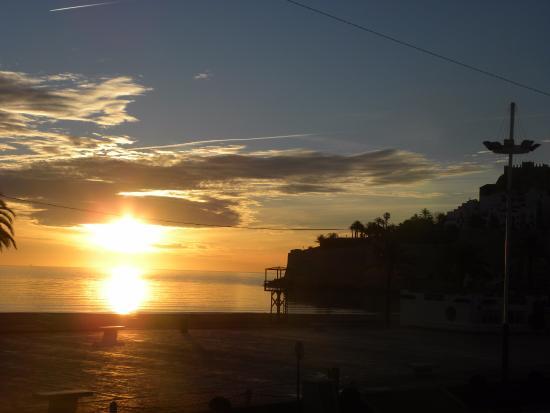 Hotel Estrella del Mar: soleil du matin