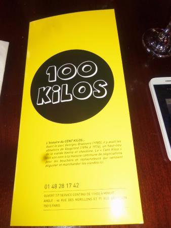 Aux 100 Kilos : pourvu que ce ne soit pas prémonitoire pour moi ;)