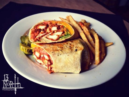 Malta, NY: Grilled Rodeo Wrap