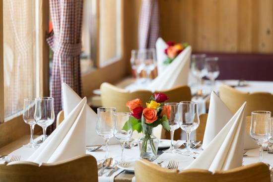 Jungfrau Lodge Swiss Mountain Hotel: Restaurant