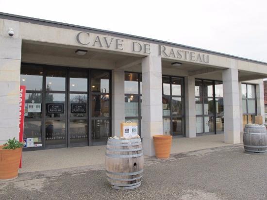 Rasteau, Francia: 現在の試飲できるカーヴ