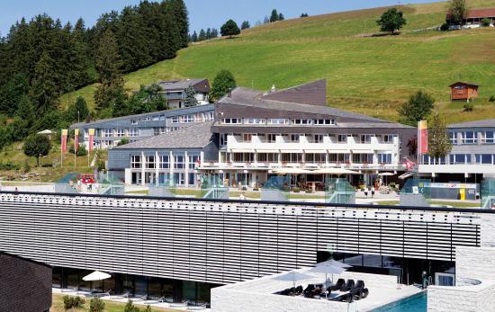 Rigi Kaltbad, Suiza: Aussenansicht Sommer