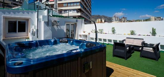 Hotel El Pozo: Suite Terrasse