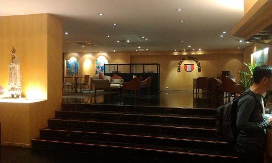 Tai-Pan Hotel: холл гостиницы