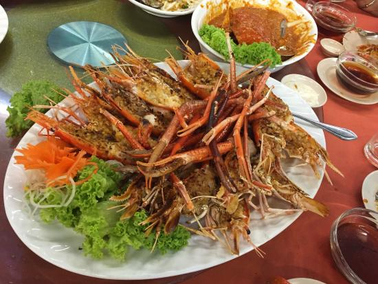 Our Very Expensive Dinner In Penang Picture Of Bali Hai Seafood Market Penang Island