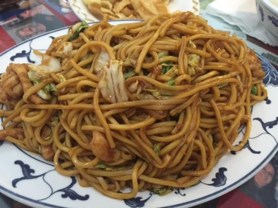 Chicken lo mein picture of hunan palace chinese restaurant hunan palace chinese restaurant chicken lo mein forumfinder Images