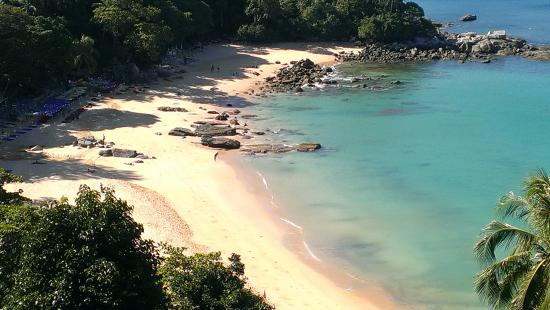View Of Laem Sing Beach From The Viewpoint Further Along Main Road