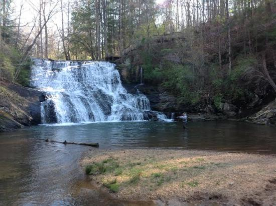 Image result for cane creek falls ga