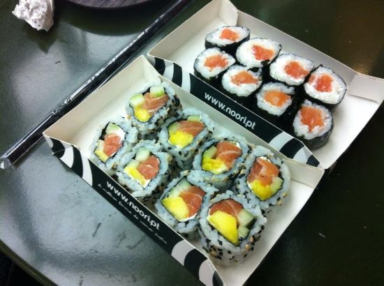 Tasty Ubereats Delivery Review Of Noori Lisbon Portugal Tripadvisor Sushi station brings the freshest and highest quality sushi at a reasonable price. tasty ubereats delivery review of