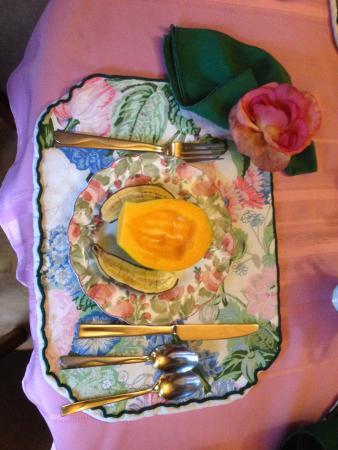 Country Goose Bed & Breakfast: Liebevoll von Joan dekoriert.