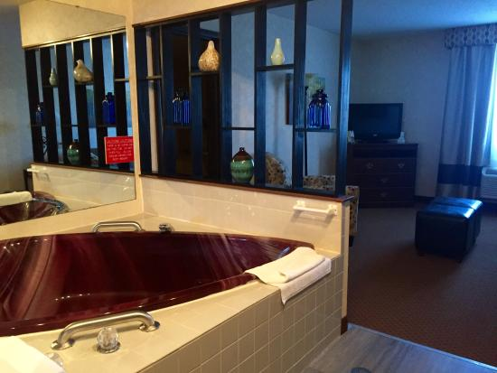 Heart Shaped Jacuzzi Tub Honeymoon Suite Picture Of Quality Inn Suites Newberry Tripadvisor