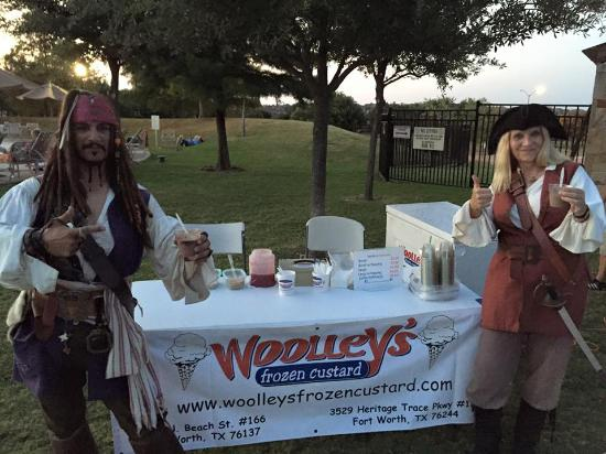 Woolley's Frozen Custard: Catering and special events