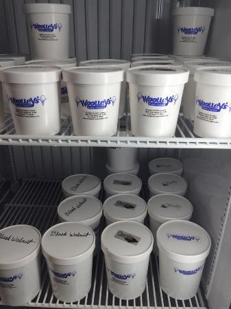 Woolley's Frozen Custard: Custard to go
