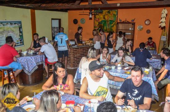 Pousada Ecologica Bicho Preguiça : Area do café da manhã