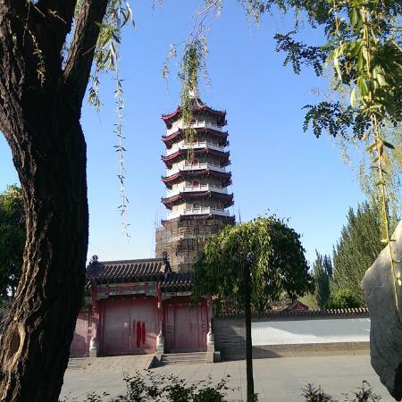 Yingkou Lengyan Temple: The pagoda