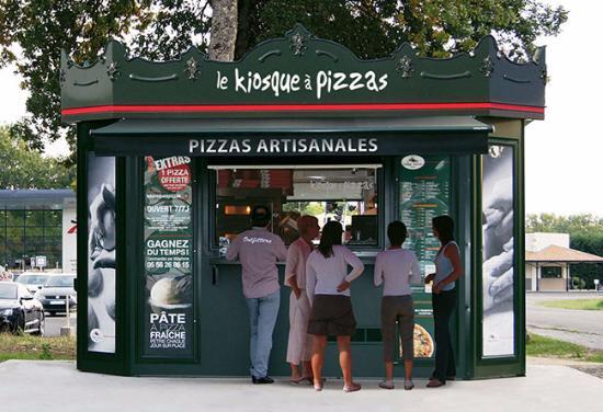 La Voulte-sur-Rhone, Γαλλία: Pizzas artisanales à emporter à La Voulte sur Rhône / Parking Intermaché