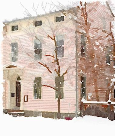 The Inn at 240 : Brrr! When does spring arrive?