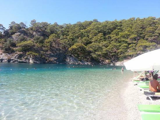 Crystal clean water - Ölüdeniz Plajı, Ölüdeniz Resmi ...
