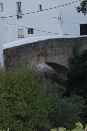 Hotel Villa de Setenil: puente sobre el rio