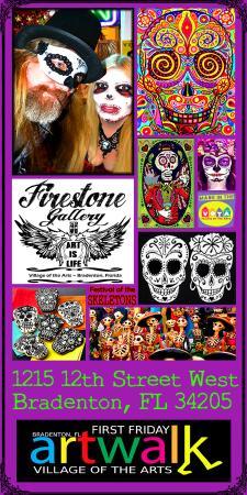 Bradenton, FL: Festival of the Skeletons brochure
