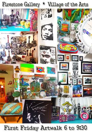 Bradenton, FL: 2 large gallery rooms filled with art!