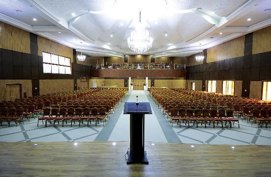Mezraia, Tunesien: Salle polyvalente