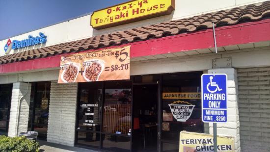 Exterior of Okaz-ya Kitchen in Fullerton, CA - Picture of Okazya ...