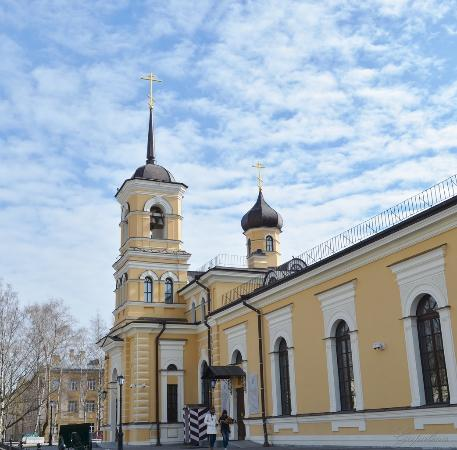 Pushkinsky District, Russia: Церковь Святого Преподобного Сергия Игумена Радонежского.