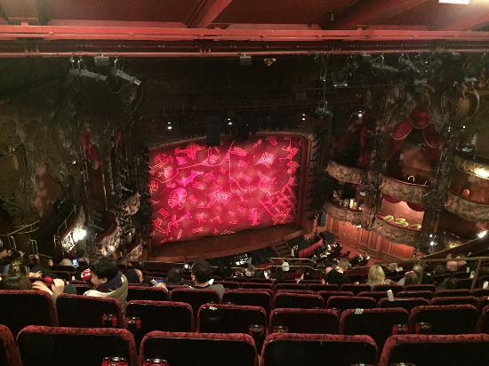 The Lion King Seat View From Grand Circle Row M Seats 21