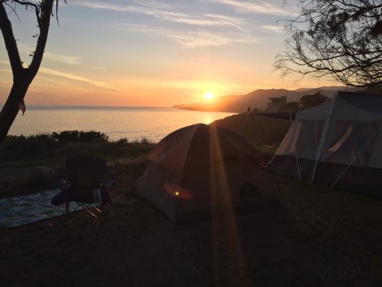 El Capitan State Beach: Camping in site #84 in April 2016 - hands down