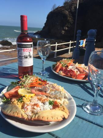 Seaside Cafe Greve De Lecq