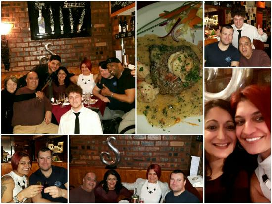Cafe Sambuca: Great steak night x
