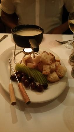 The Peasant And The Pear : Fondue Appetizer