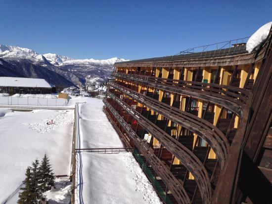 Grand Hotel Sestriere: L'albergo dalla camera