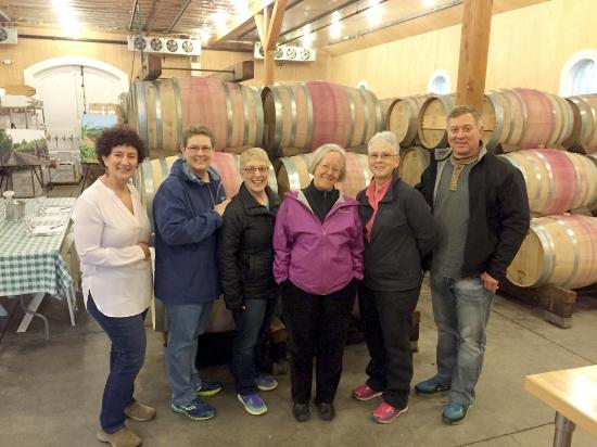 Corison Winery: Meeting winemaker, owner Cathy Corison at the winery.