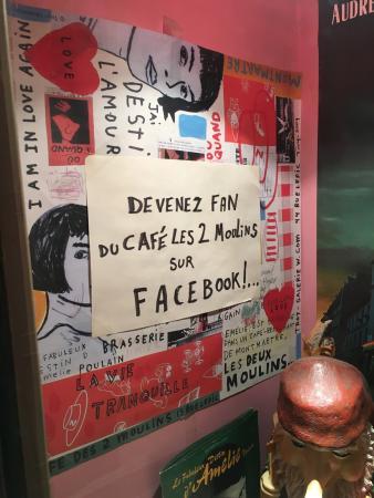 """Cafe des Deux Moulins: Café da """"Amelie Poulain"""""""